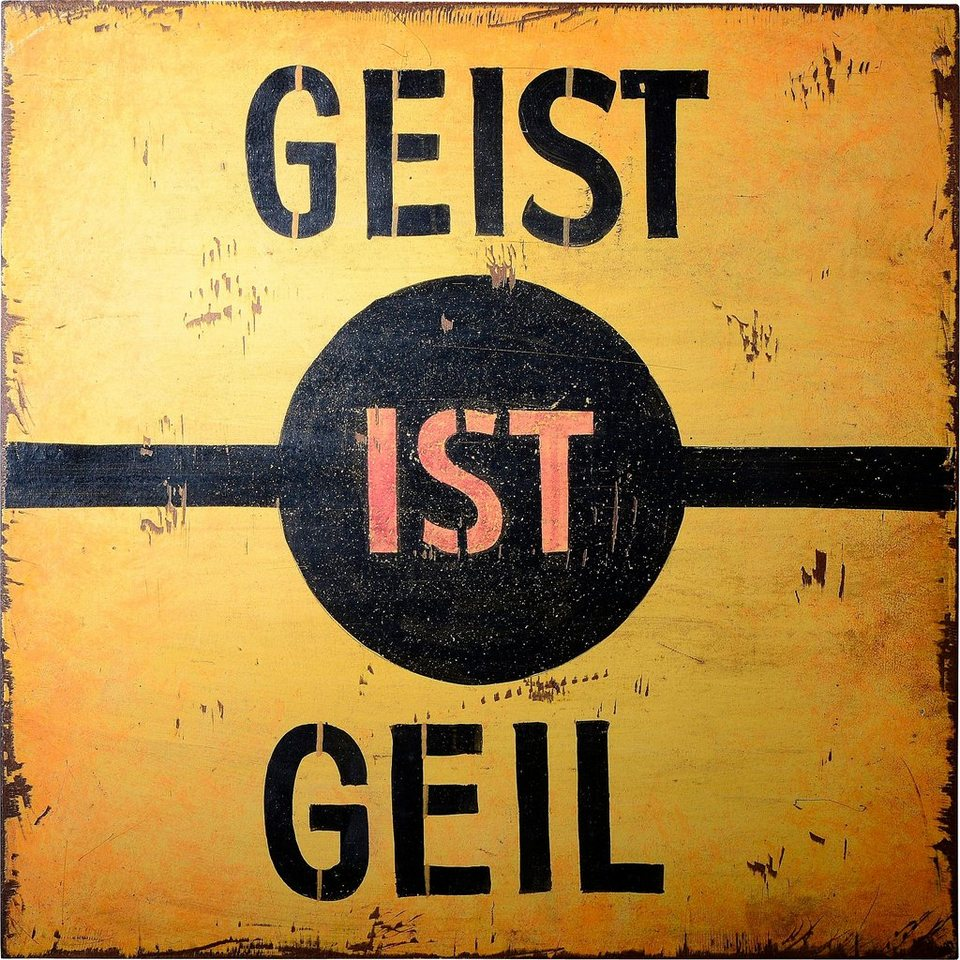 SIT, Wandbild, »Wall Art« in gelb