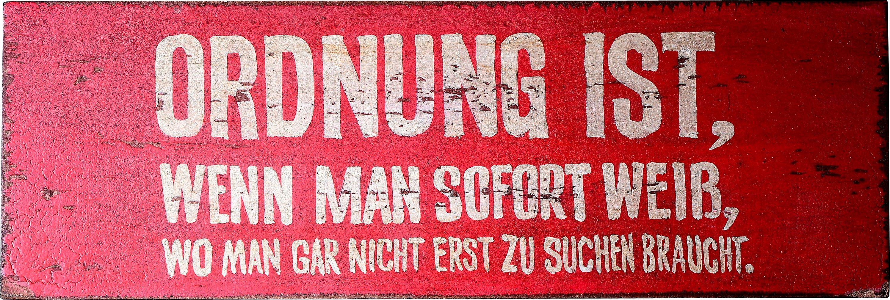 SIT, Wandbild, »Wall Art«, 30/10 cm
