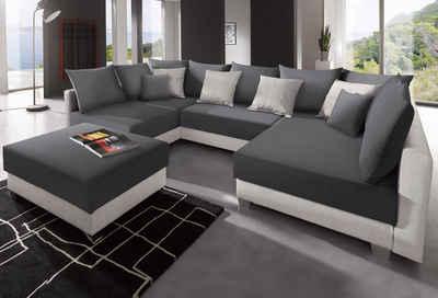 Couch u form leder  Wohnlandschaft online kaufen » Sofa in U-Form | OTTO