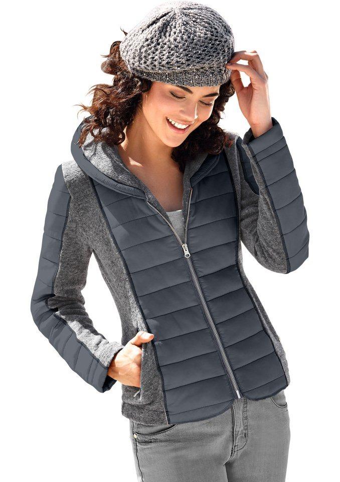Classic Inspirationen Walk-Jacke aus Walk-Qualität in anthrazit