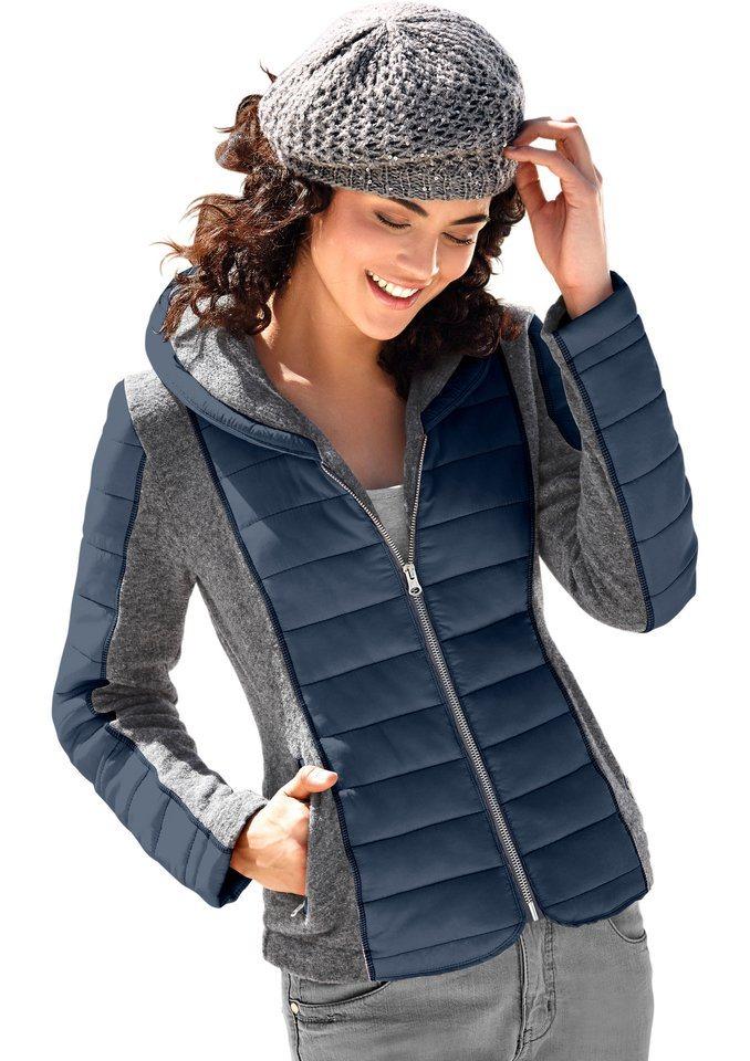 Classic Inspirationen Walk-Jacke aus Walk-Qualität in marine