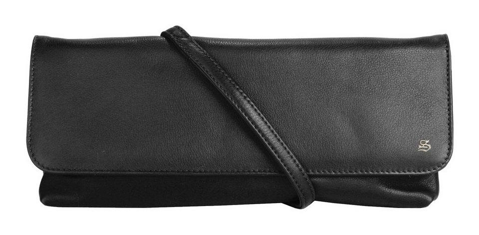 SZUNA Abendtasche in schwarz