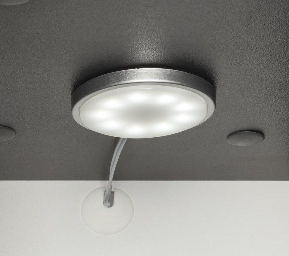 Welltime LED-Unterbauspots »Tetis« (2er Set) in chrom