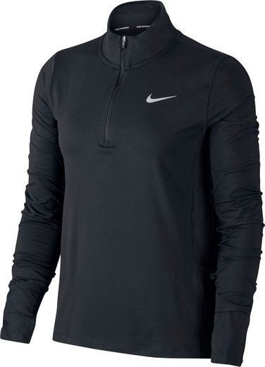 Nike Laufshirt »WOMENS 1/2-ZIP RUNNING TOP PLUS SIZE«