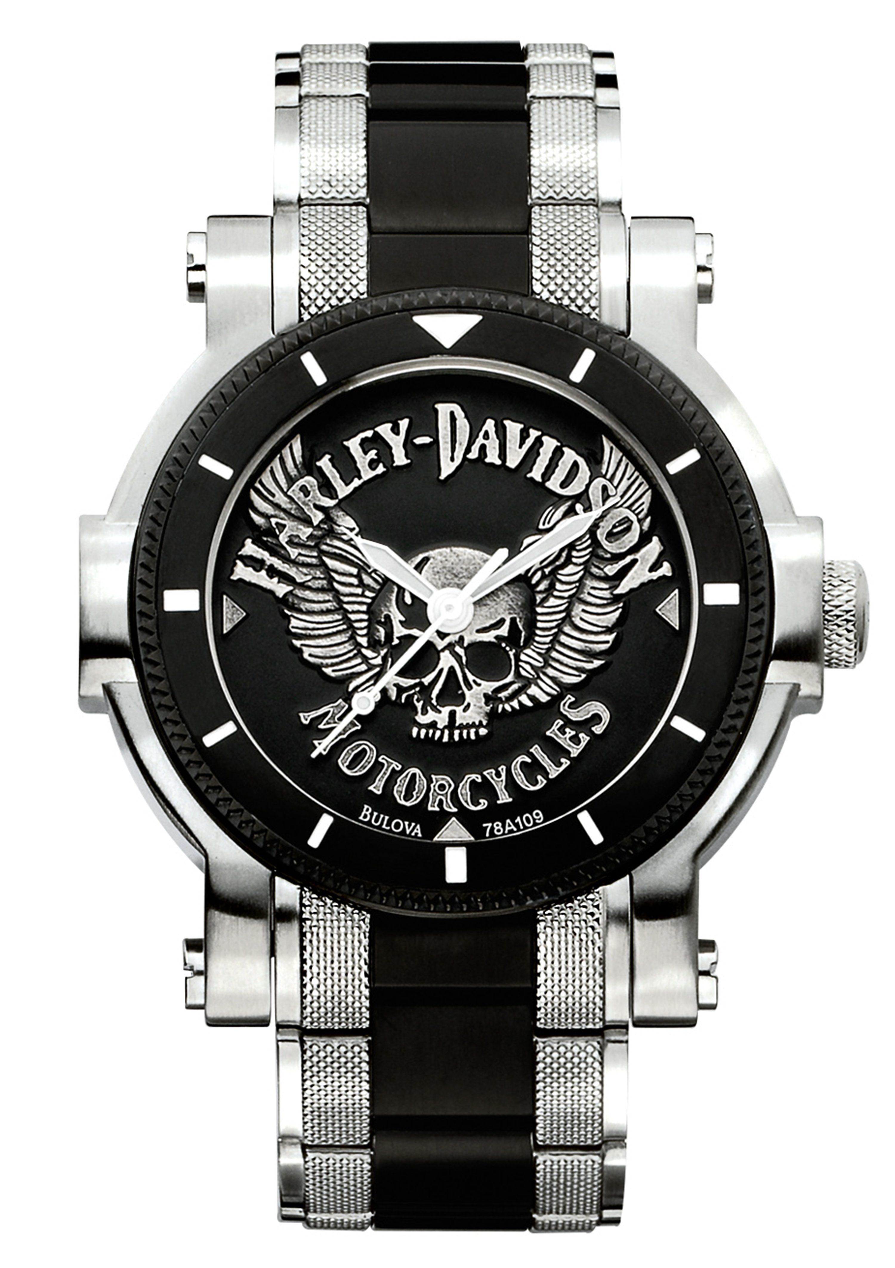Harley Davidson Quarzuhr »Signature, 78A109«