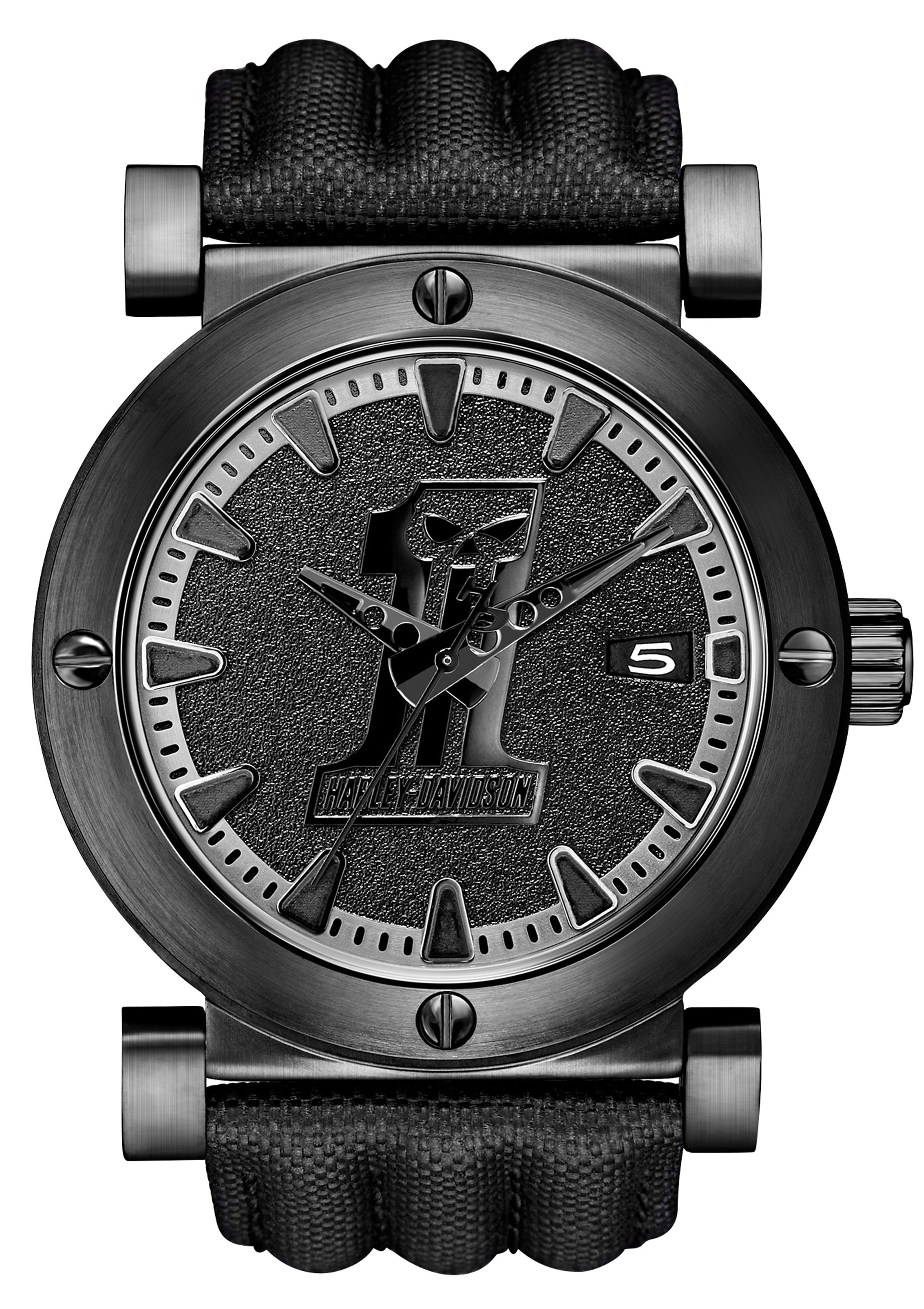 Harley Davidson Quarzuhr »Black Label, 78B131«