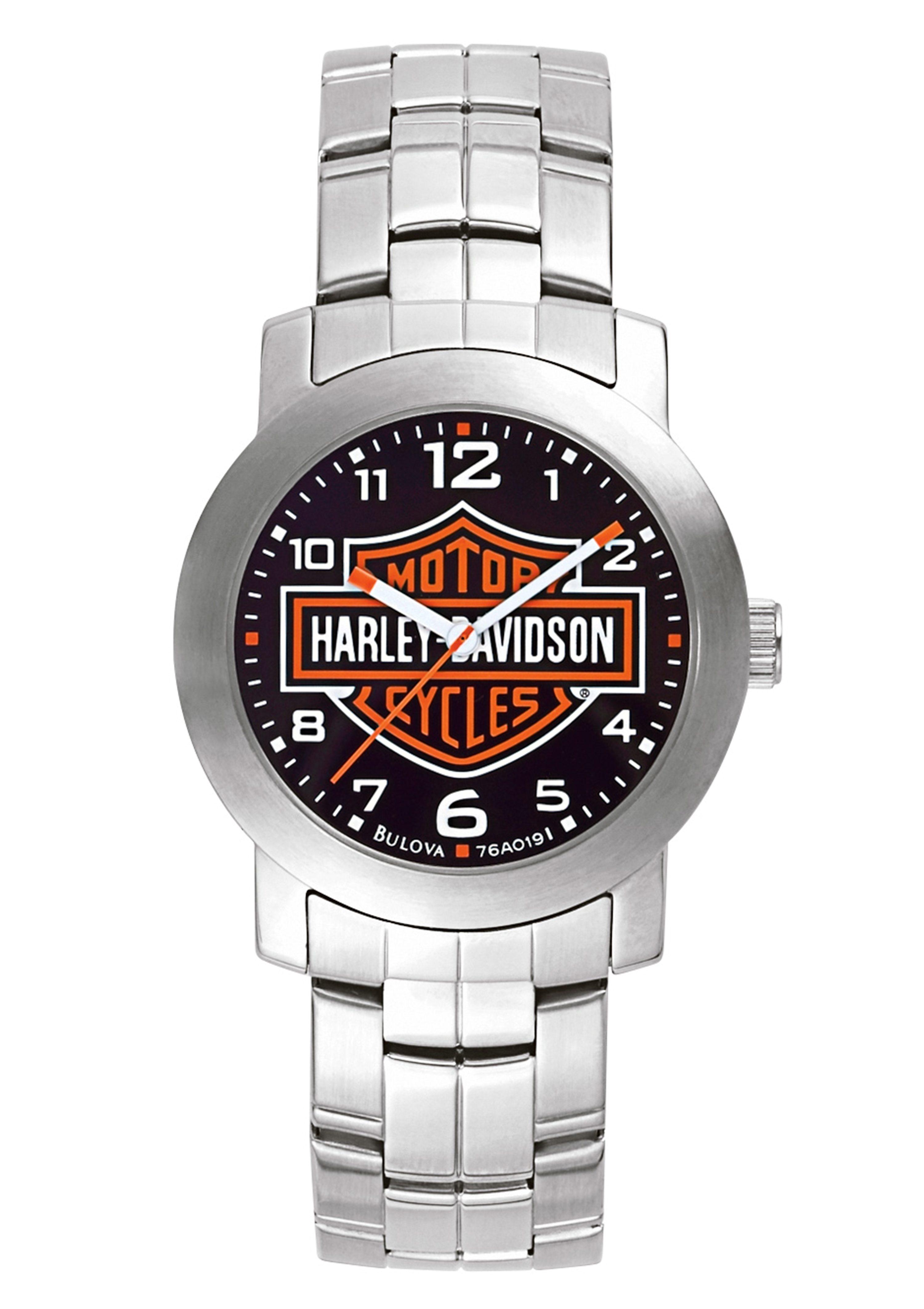 Harley Davidson Quarzuhr »Decals, 76A019«