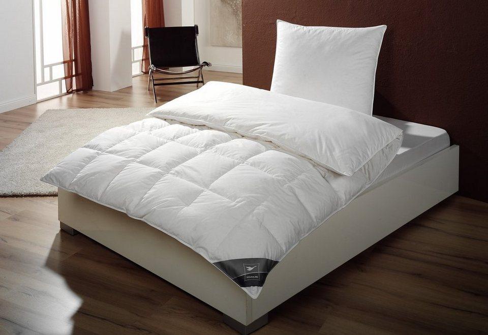 Daunenbettdecke Häussling Body Perfect, warm, Qualität First Class, 90% Daunen, 10% Federn