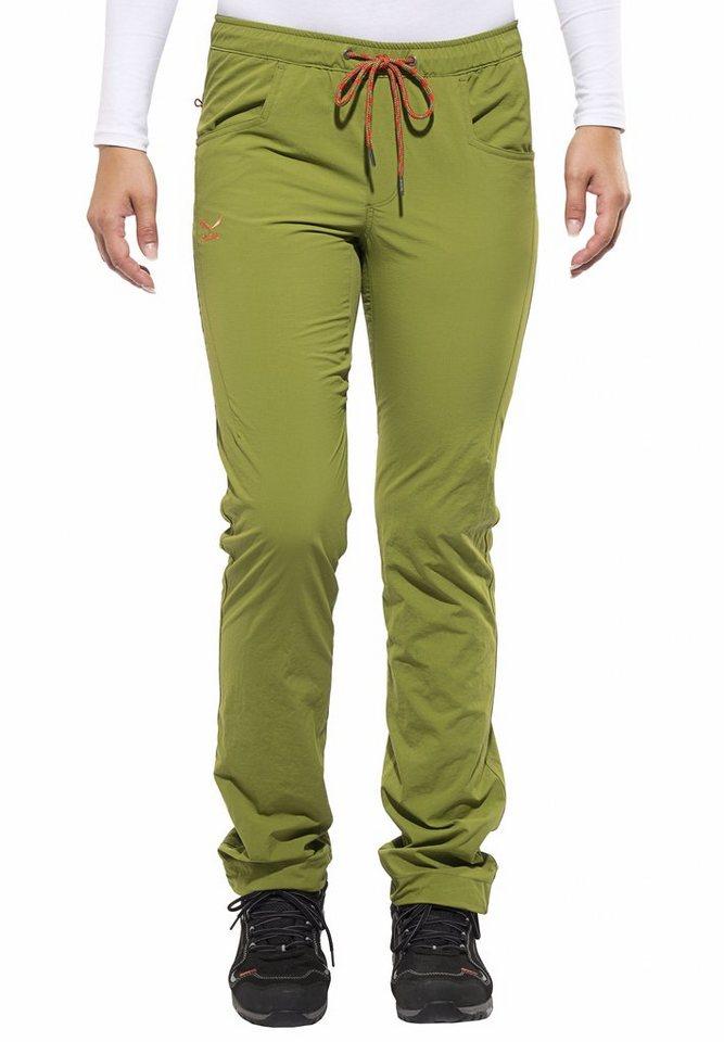 Salewa Outdoorhose »Batajan Dry Pant Women« in grün