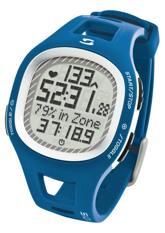 Sigma Sport Pulsuhr inkl. Brustgurt, »PC 10.11 blue« in blau