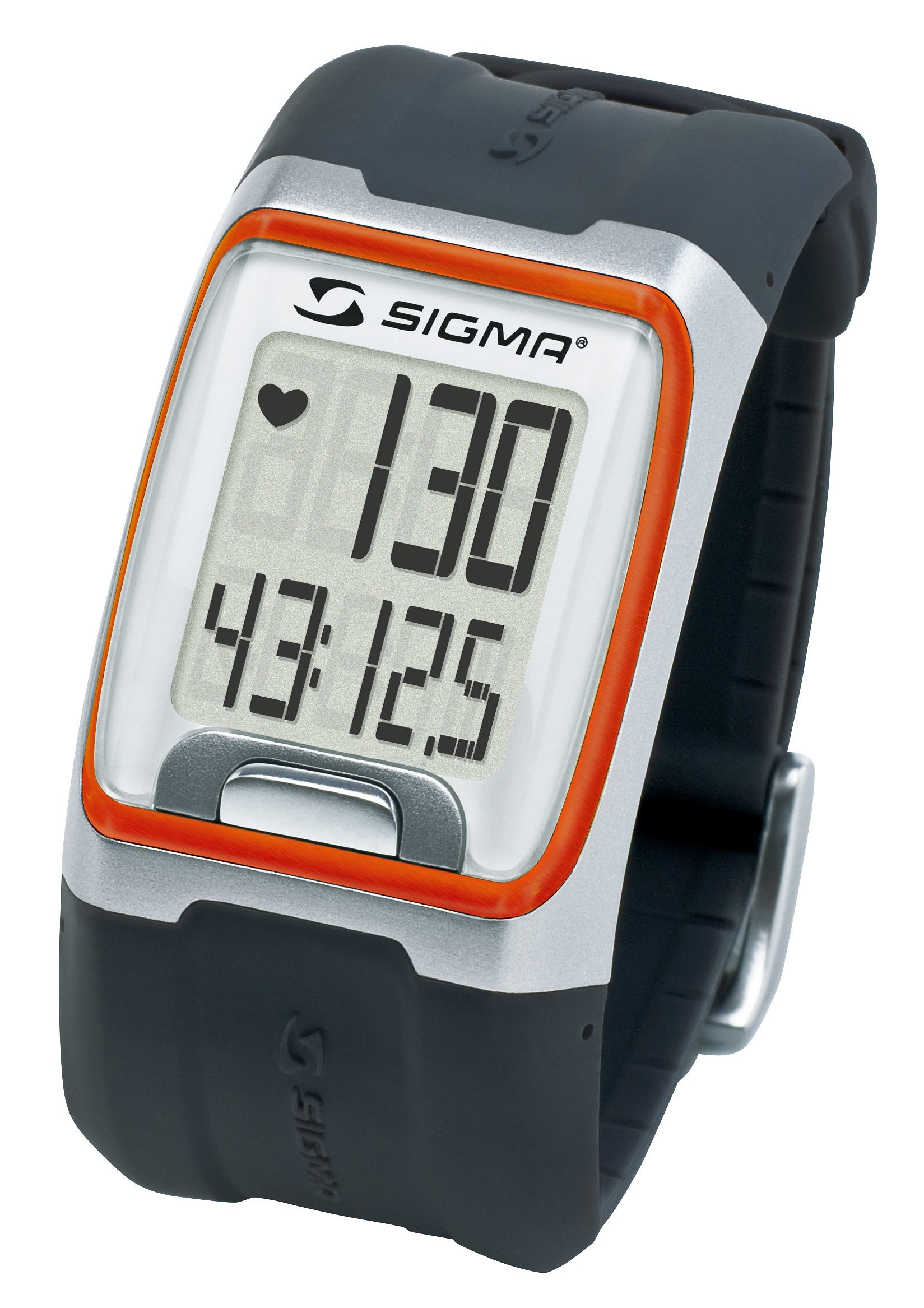 Sigma Sport Pulsuhr inkl. Brustgurt, »PC 3.11 orange«