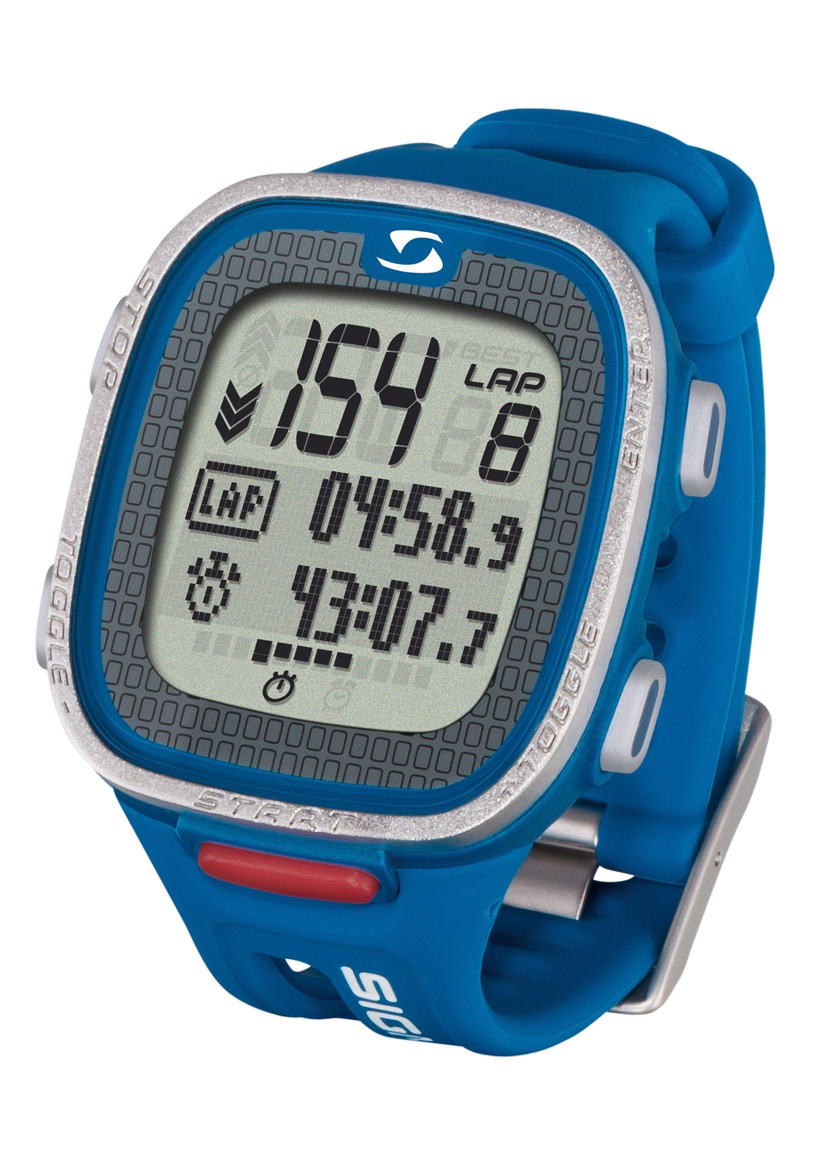 Sigma Sport Pulsuhr inkl. Brustgurt, blau, »PC 26.14«