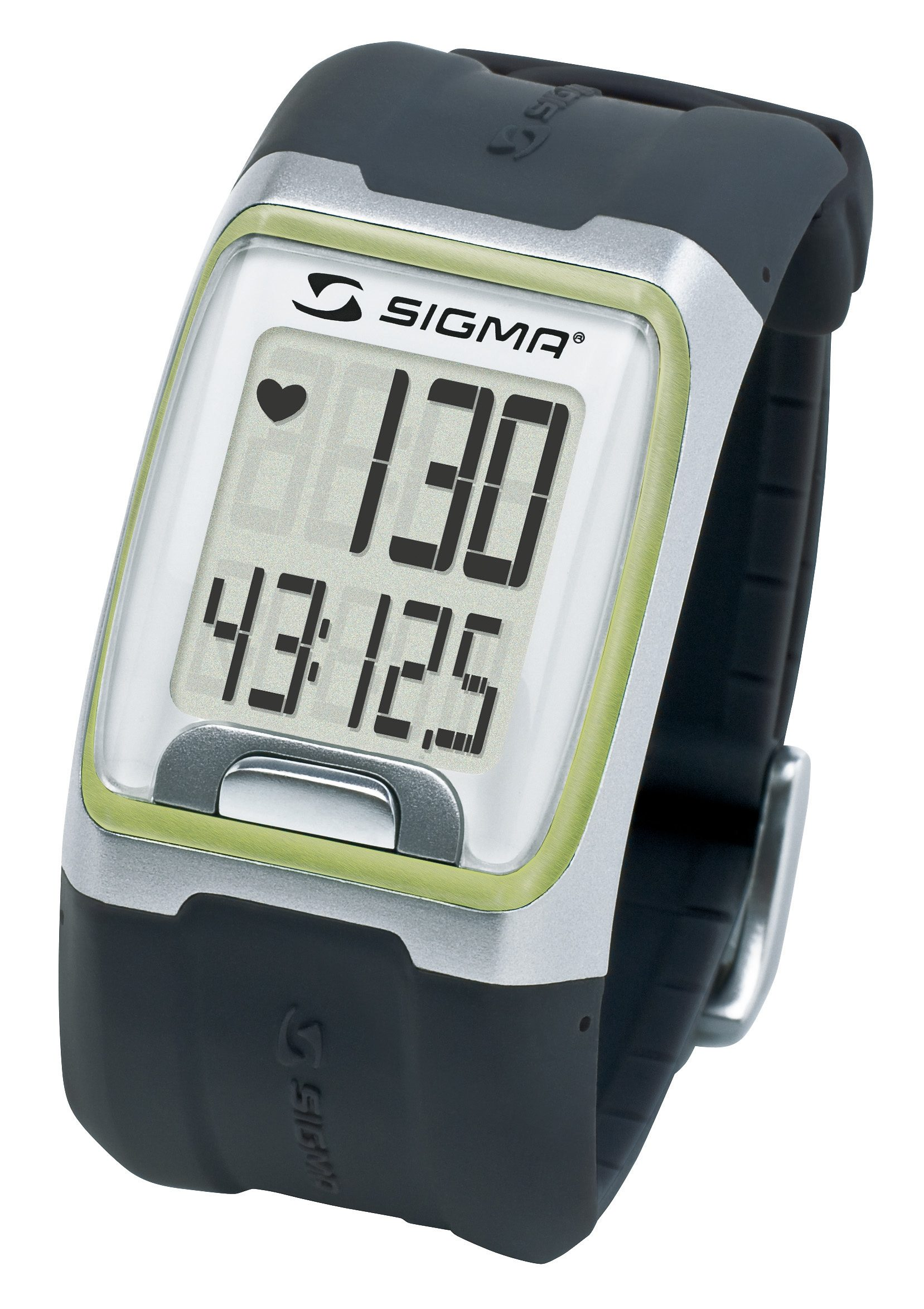 Sigma Sport Pulsuhr inkl. Brustgurt, »PC 3.11 green«