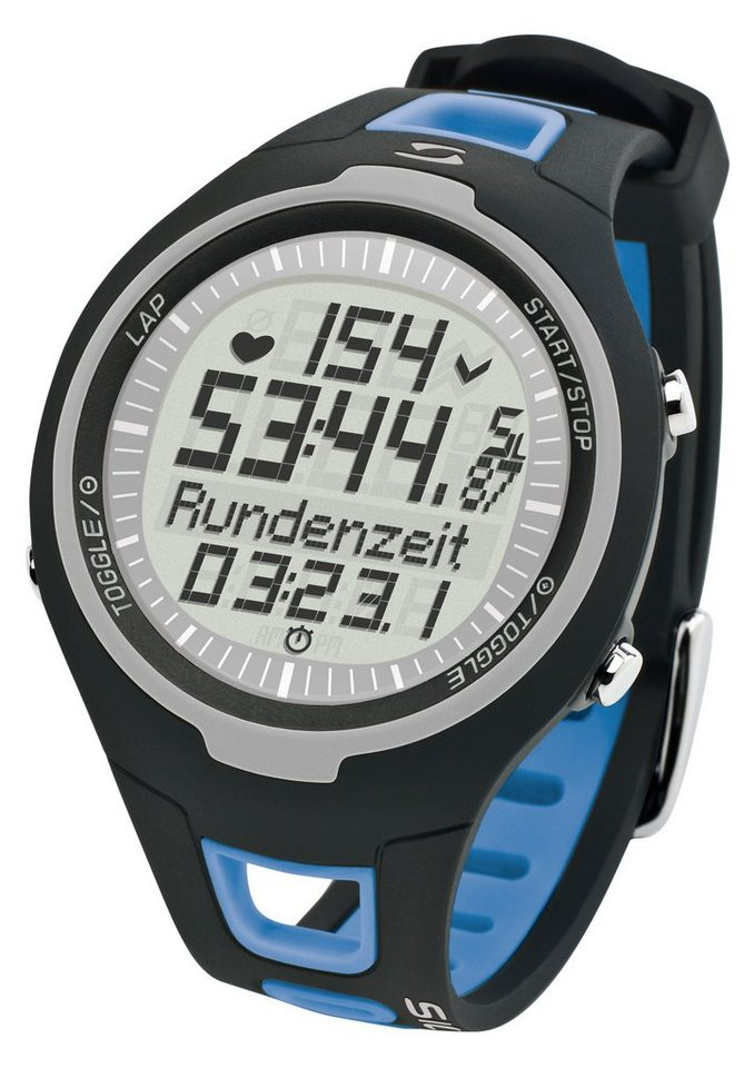 Sigma Sport Pulsuhr inkl. Brustgurt, »PC 15.11 blue« in blau