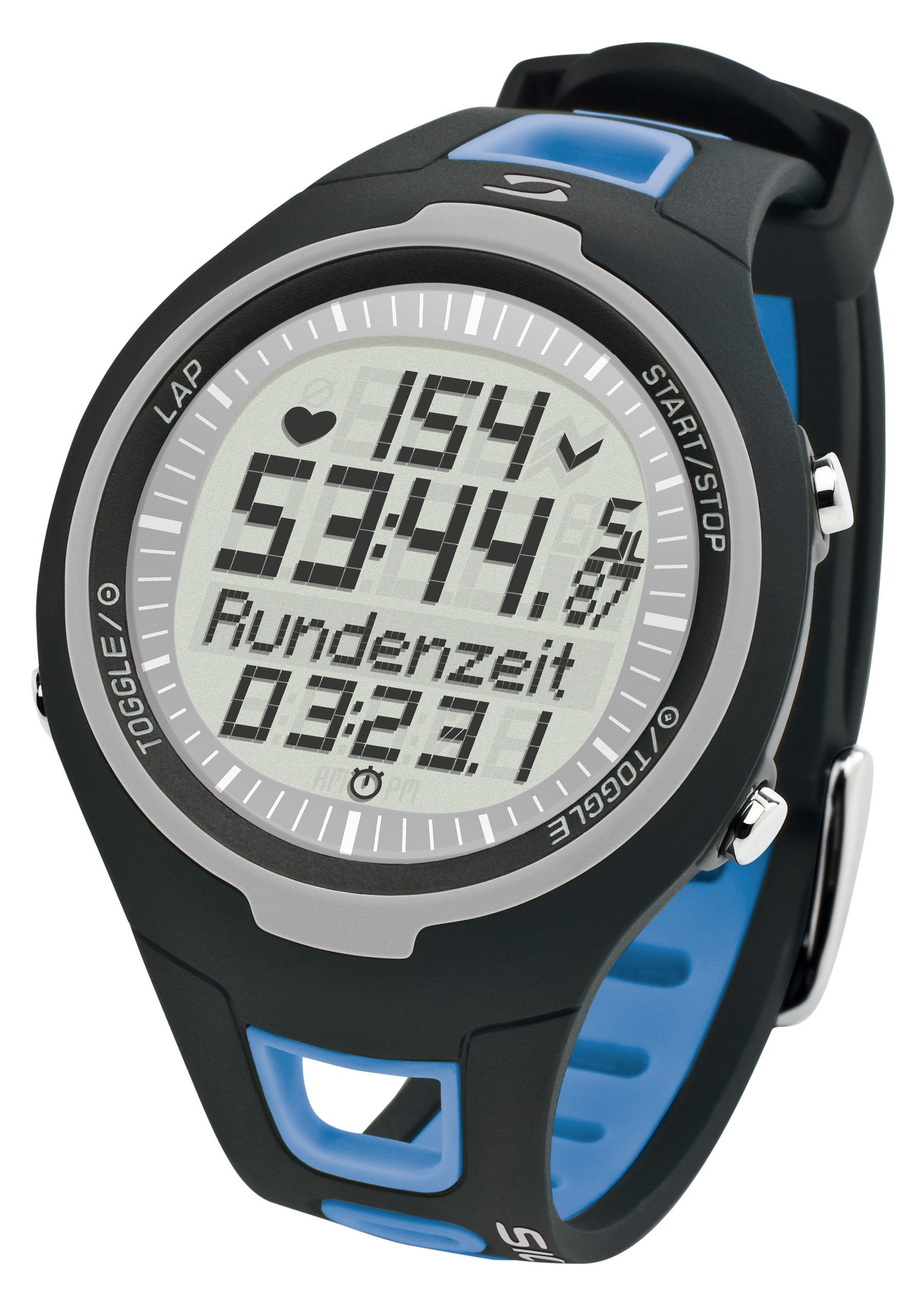 Sigma Sport Pulsuhr inkl. Brustgurt, »PC 15.11 blue«