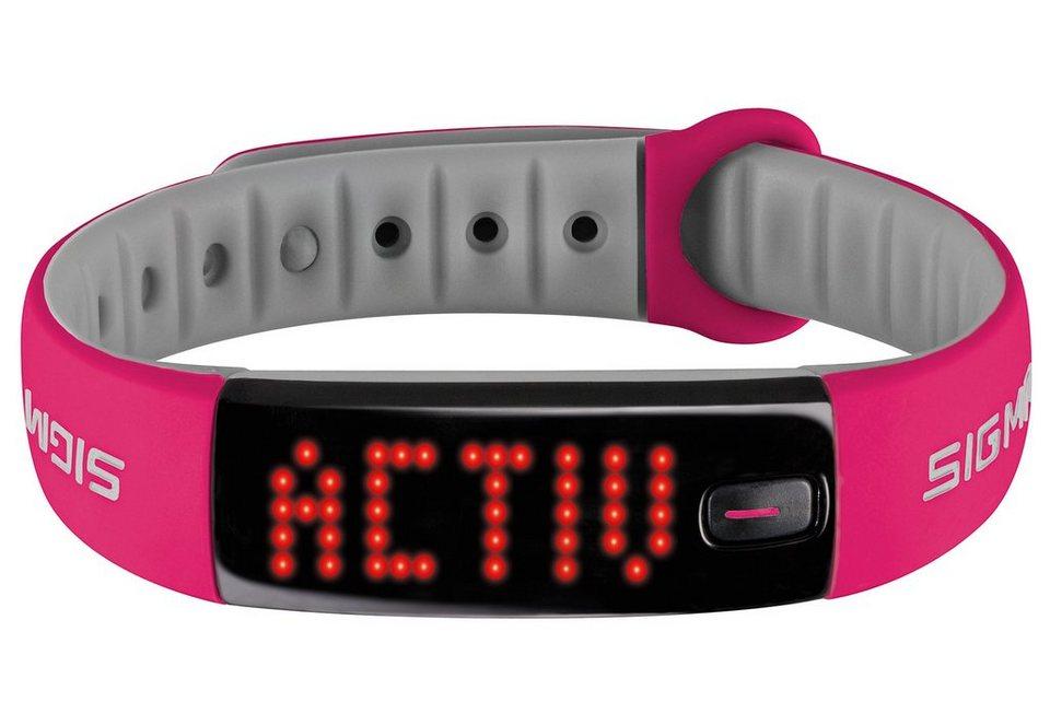 Sigma Sport Fitnessarmband, Activity Tracker, pink, »Activo« in rosa