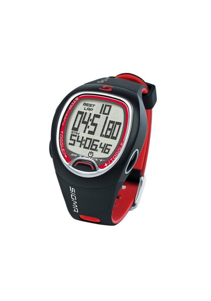 Sigma Sport Stoppuhr, »SC 6.12« in schwarz-rot