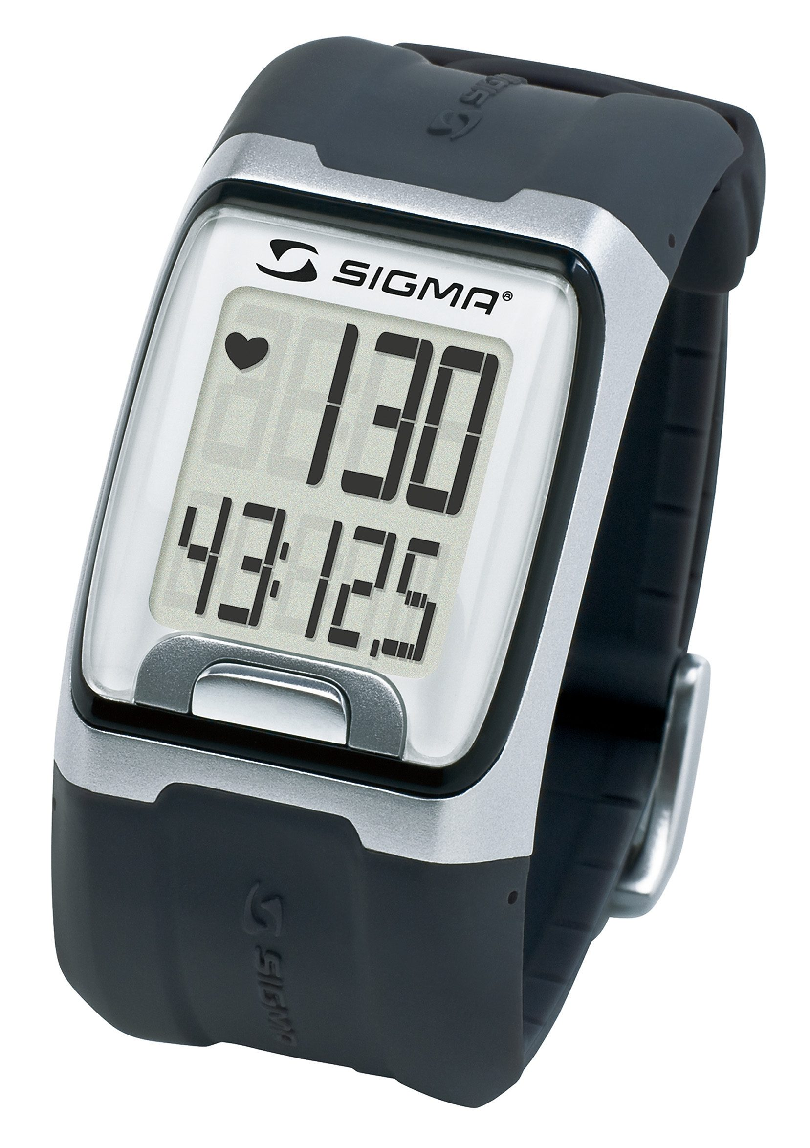 Sigma Sport Pulsuhr inkl. Brustgurt, »PC 3.11 black«