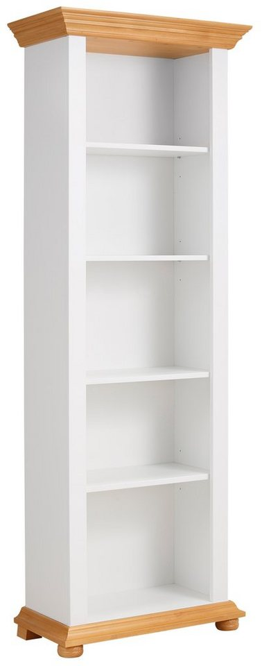 Premium collection by Home affaire Regal »Romantica«, Breite 70 cm in weiss/ honig