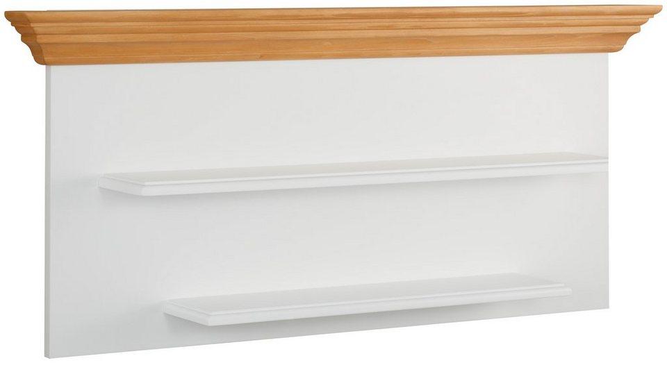 Premium collection by Home affaire Wandboard »Romantica« in weiß/honig