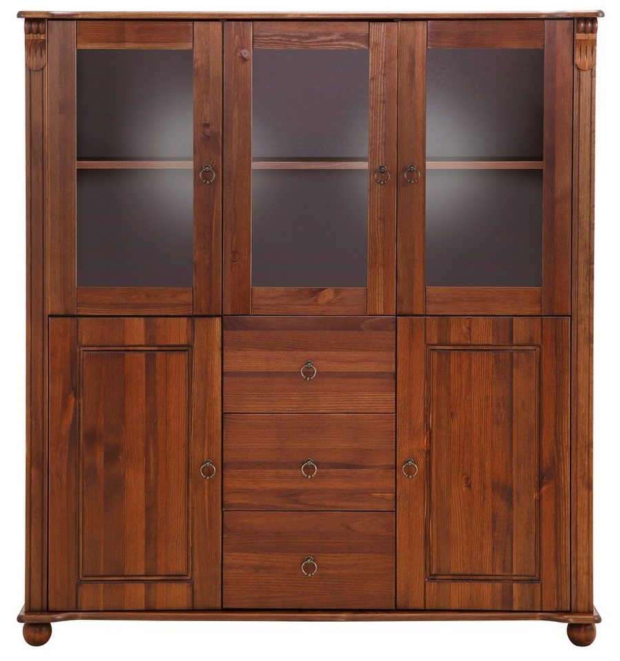 home affaire highboard ferrera 127 cm breit otto. Black Bedroom Furniture Sets. Home Design Ideas
