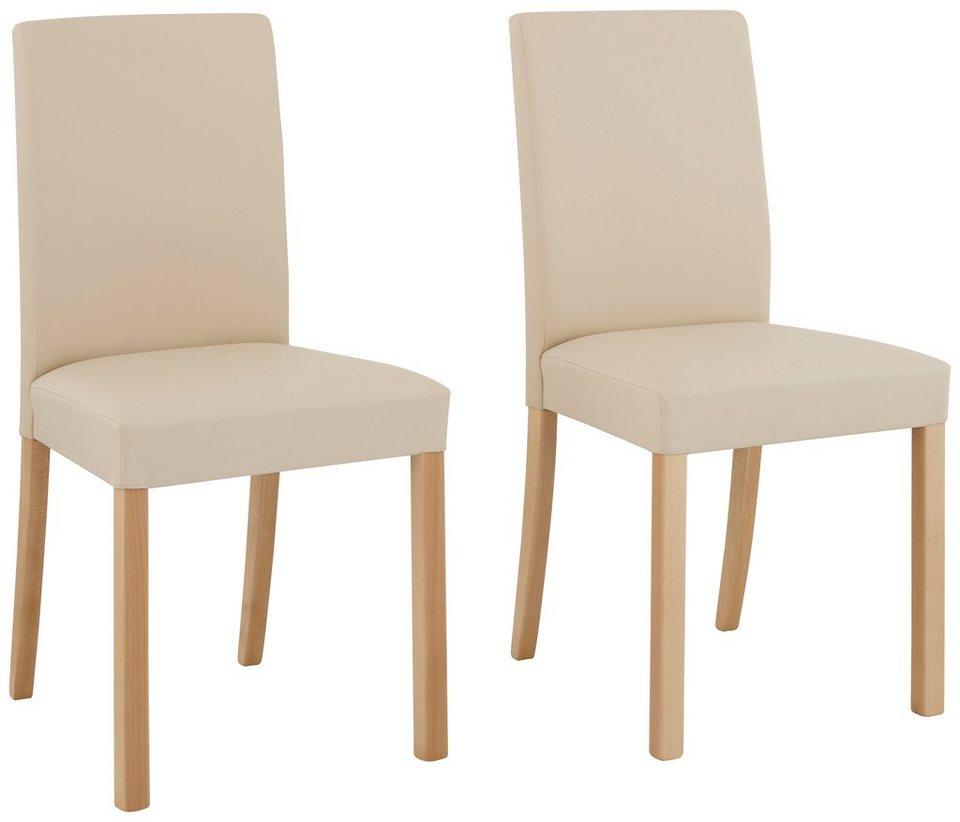 home affaire stuhl nina 2er 4er 6er set mit kunstlederbezug online kaufen otto. Black Bedroom Furniture Sets. Home Design Ideas