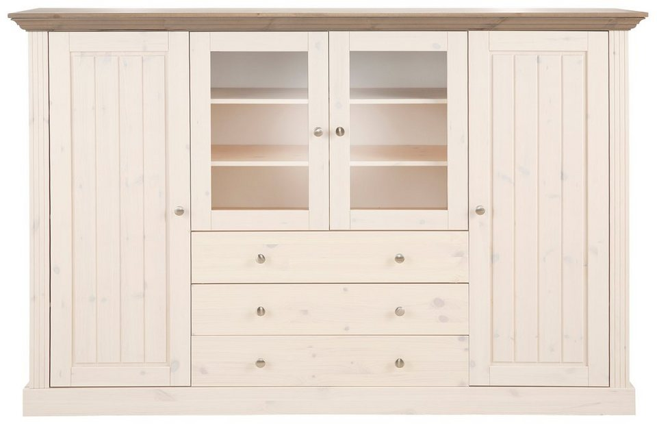 Highboard, Home affaire, »Skanderborg«, Breite 186,5 cm, Höhe 123 cm ...