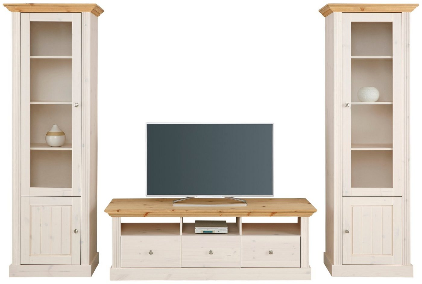 tv schrank kiefer gelaugt preisvergleiche. Black Bedroom Furniture Sets. Home Design Ideas