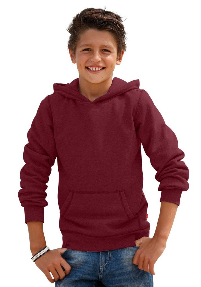 CFL Kapuzensweatshirt in bordeaux
