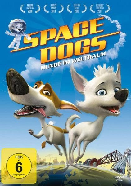 DVD »Space Dogs - Hunde im Weltall«