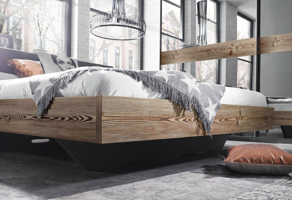 inosign bett wahlweise mit seitlichen ablagen otto. Black Bedroom Furniture Sets. Home Design Ideas