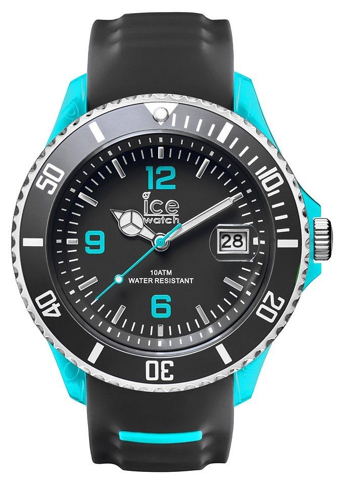ice-watch Quarzuhr »ICE-SPORTY, SR.3H.GSB.BB.S.15« in grau