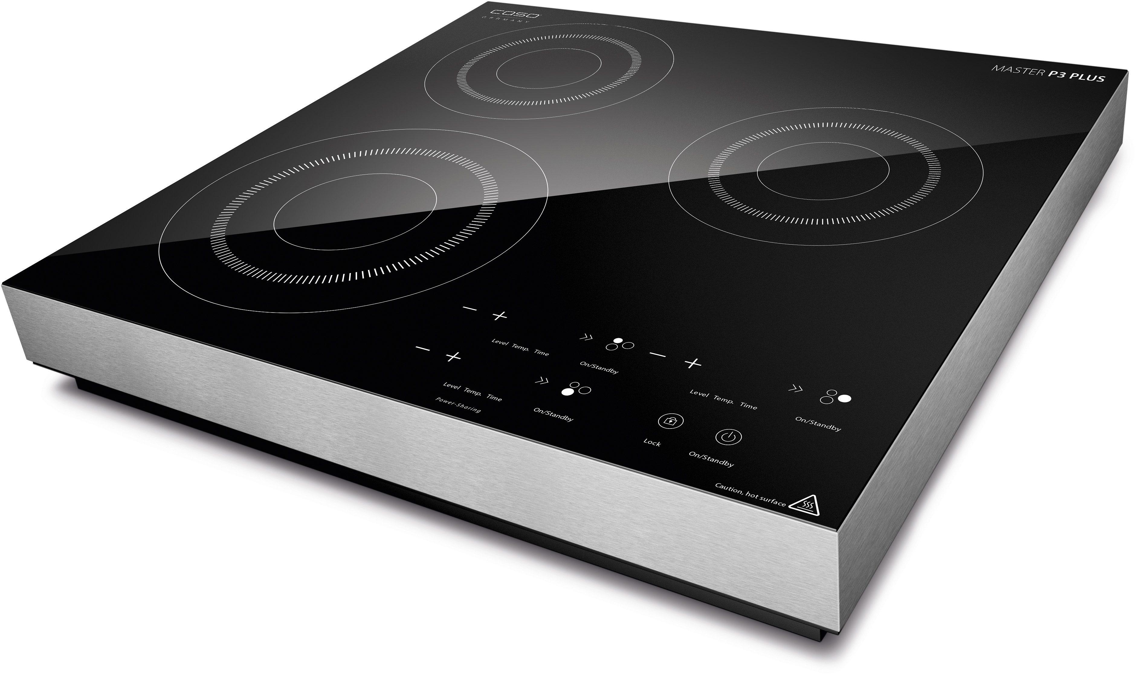 CASO Mobiles Design Induktionskochfeld CASO Master P3 Plus, 3500 Watt, mit Timer