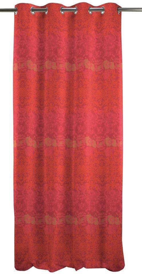Vorhang, Apelt, »Tilda« (1 Stück) in rot