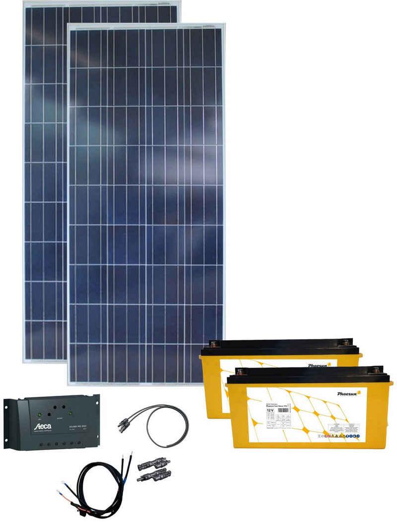 Phaesun Solarmodul »Energy Generation Kit Solar Rise«, 165 W, (Set), 165 W