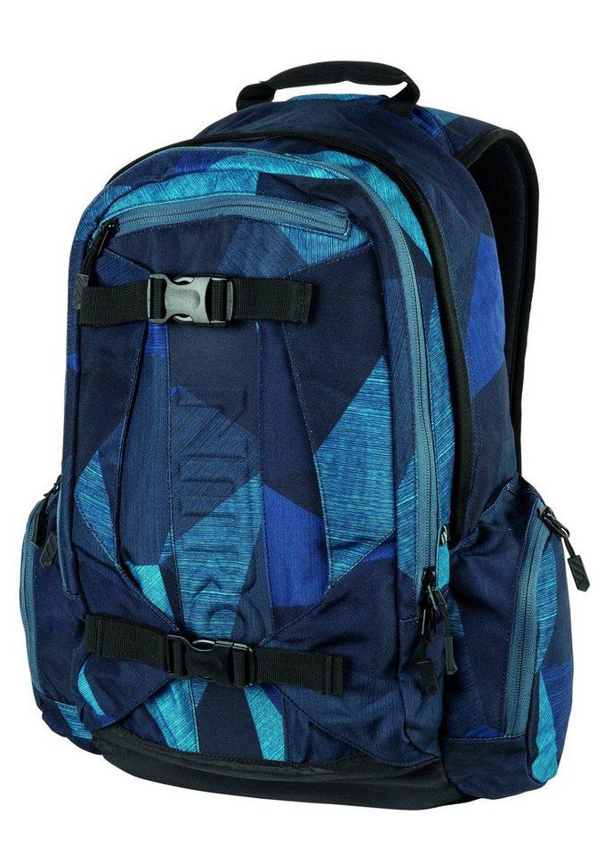 Nitro Schulrucksack, »Zoom - Fragments Blue« in blau