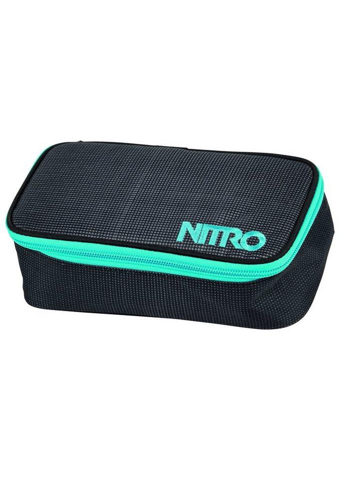 Nitro Mäppchen, »Pencil Case XL - Blur Blue Trims« in blau