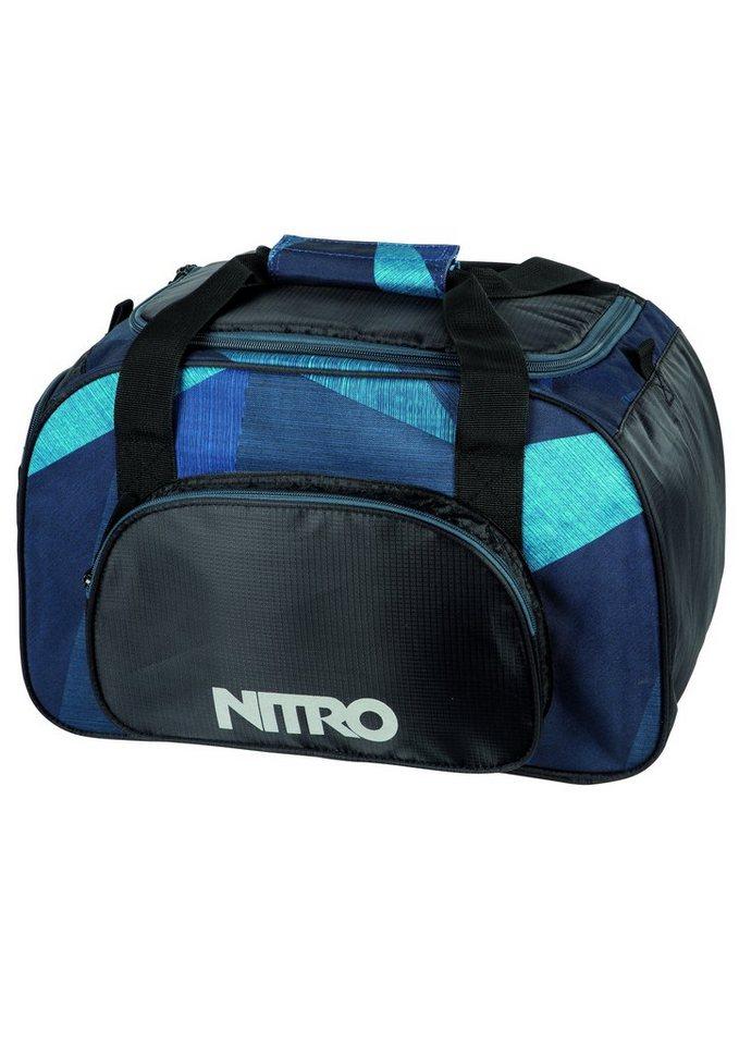 Nitro Reisetasche, »Duffle Bag XS - Fragments Blue« in blau