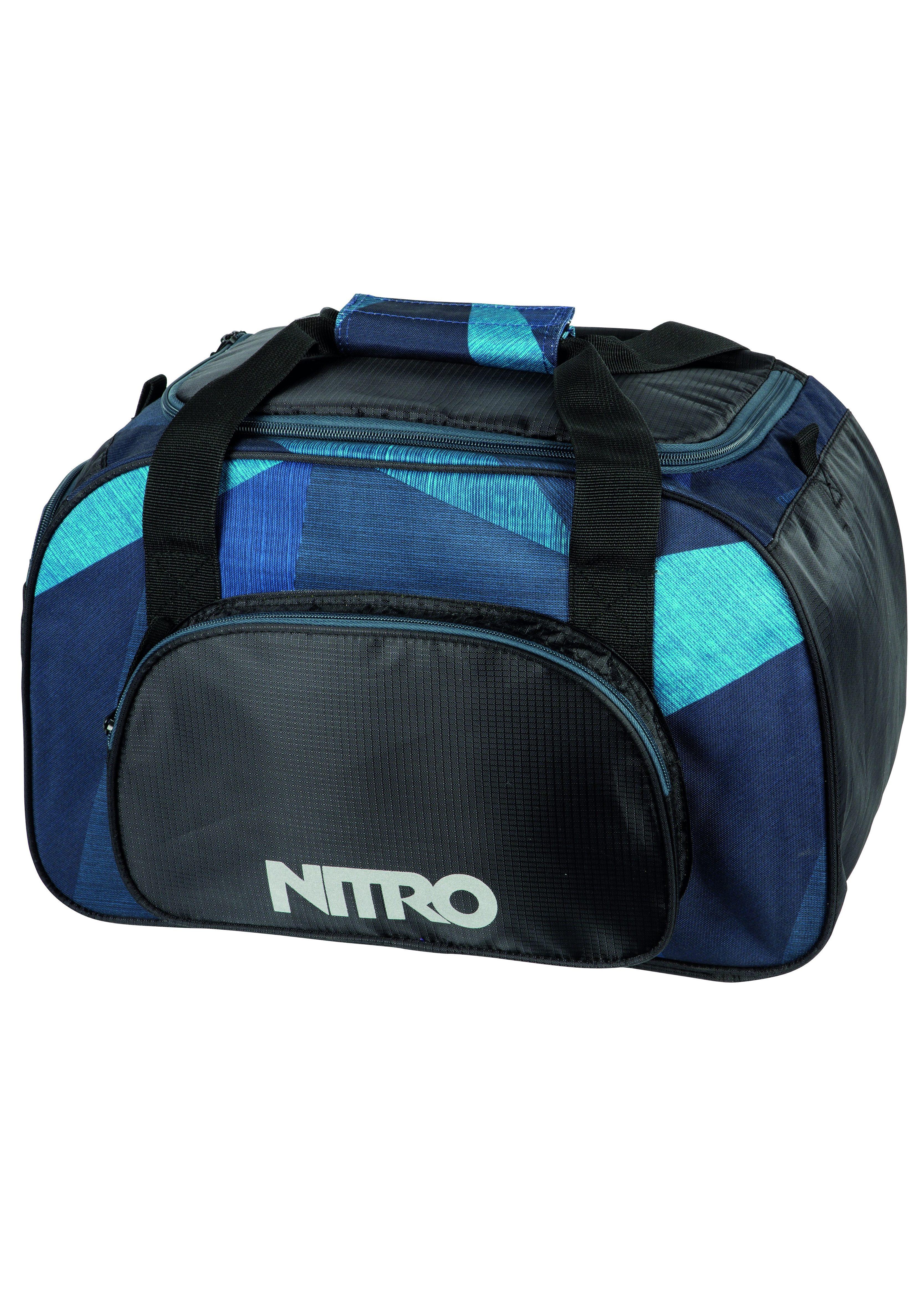 Nitro Reisetasche, »Duffle Bag XS - Fragments Blue«