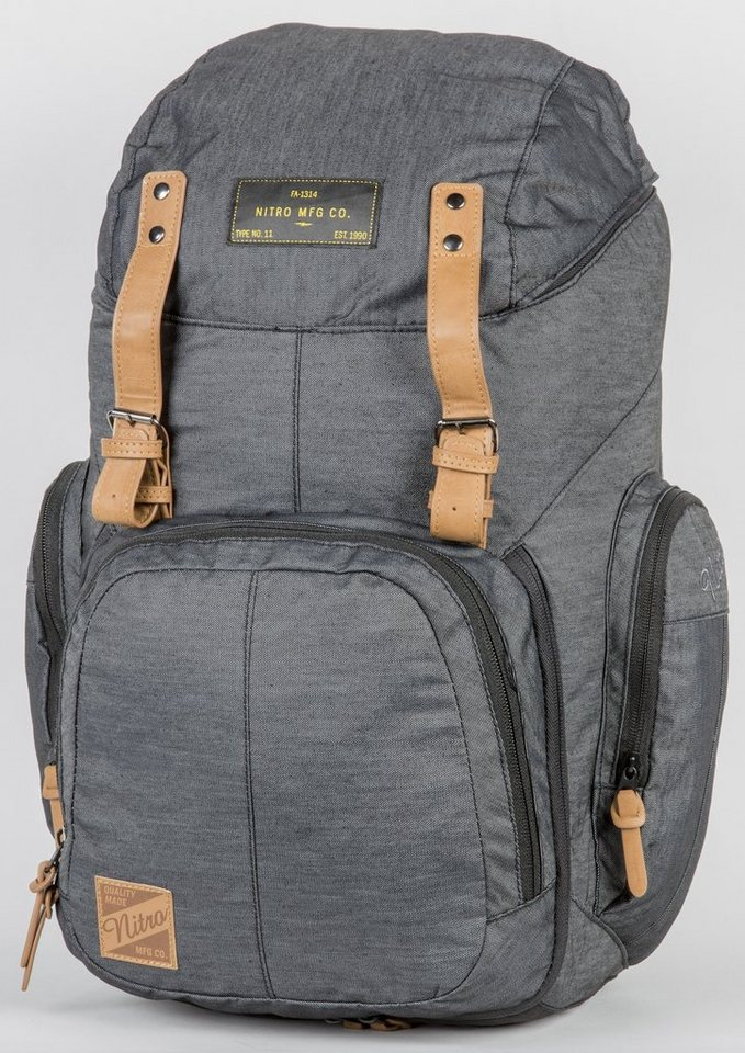 Nitro Rucksack, »Weekender - Black Denim« in schwarz