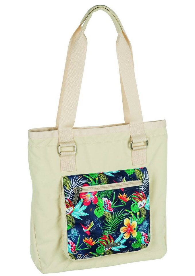 Nitro Shopper, »Tote Bag - Paradise Khaki« in bunt