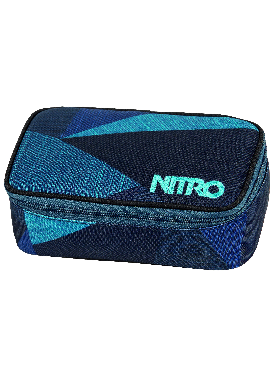 Nitro Mäppchen, »Pencil Case XL - Fragments Blue«