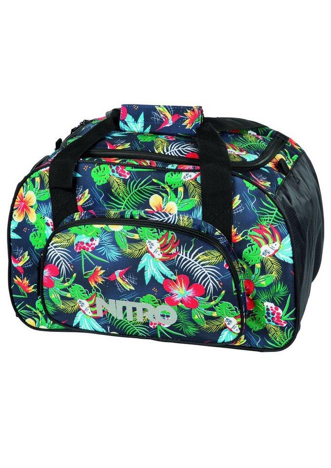 Nitro Reisetasche, »Duffle Bag XS - Paradise« in bunt