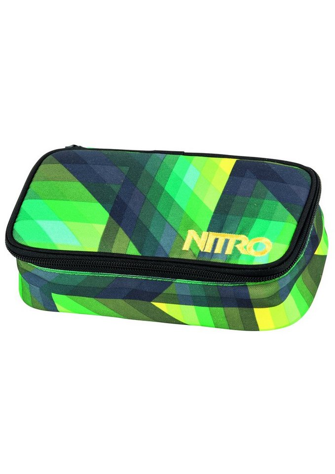 Nitro Mäppchen, »Pencil Case XL - Geo Green« in grün