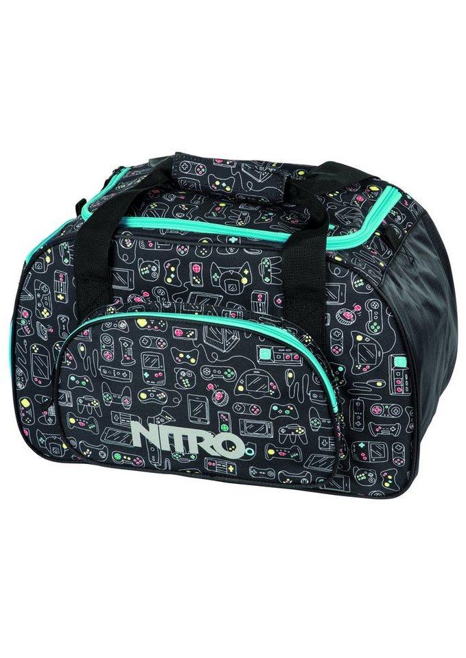 Nitro Reisetasche, »Duffle Bag XS - Gaming« in bunt