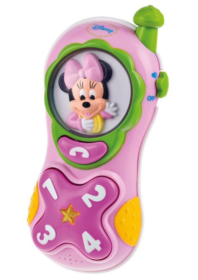 Clementoni Spielzeug Handy, »Minnies Handy« in pink