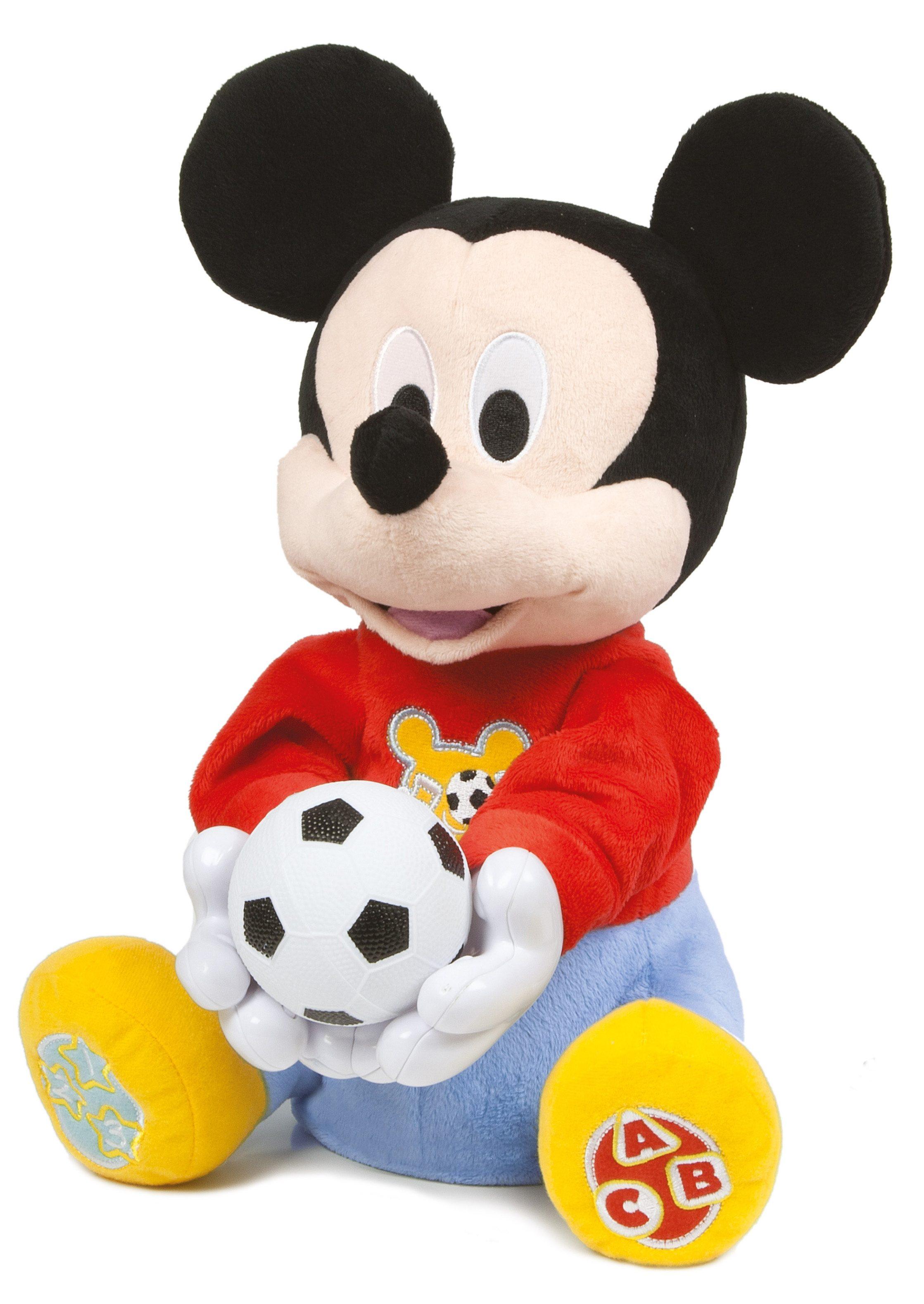 Clementoni Plüschfigur, »Baby Mickey Ballwerfer«
