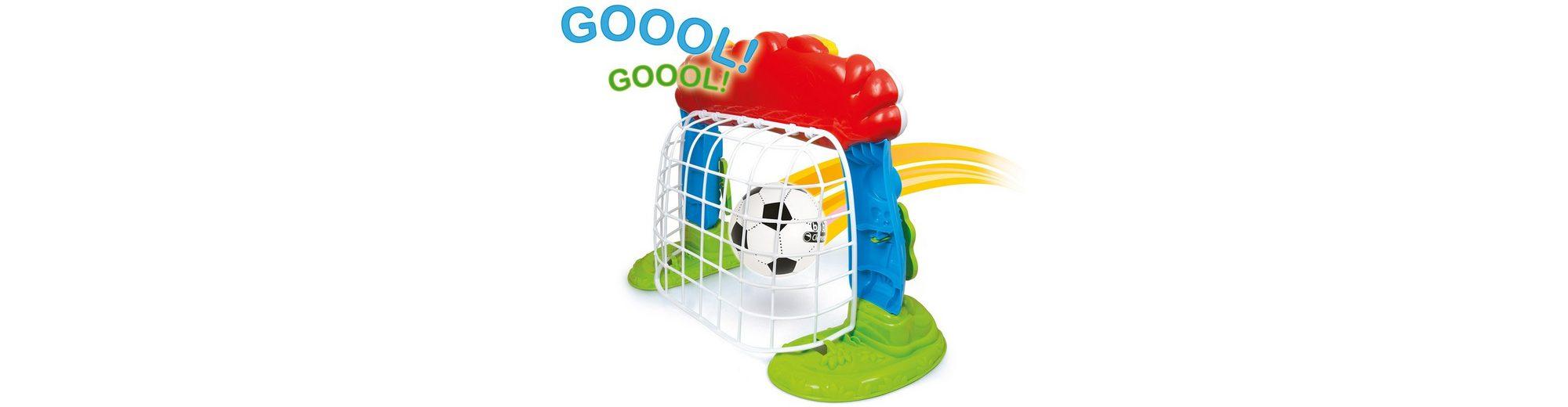 Clementoni Fußballtor mit Ball und Lernfunktion, »Interaktives Fußballtor«