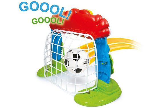 Clementoni® Lernspielzeug »Interaktives Fußballtor«, mit Ball und Lernfunktion