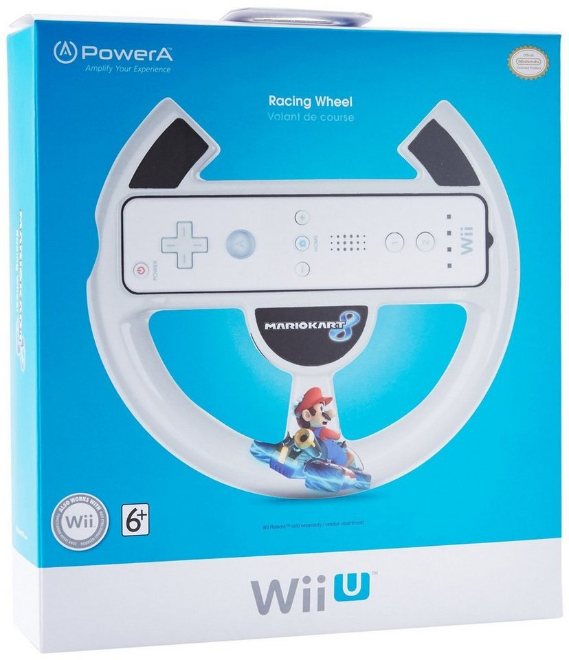 PowerA Lenkrad Mario Kart 8 Racing Wheel »(WiiU)«